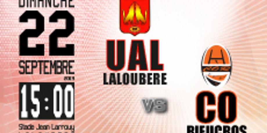 UA Laloubère vs CO Rieucros