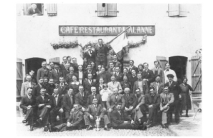 Banquet annuel UAL 1936