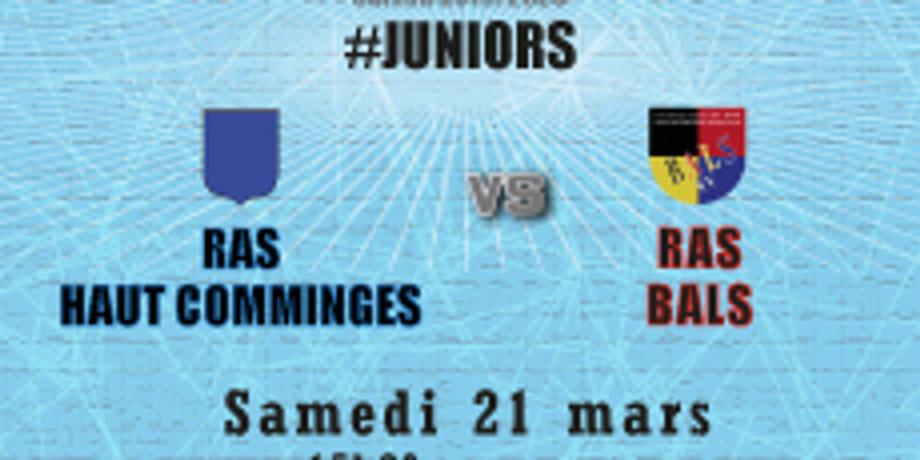 #Juniors : RAS Haut Comminges vs Bals
