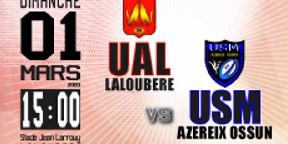 UA Laloubère vs US Mardaing Azereix Ossun