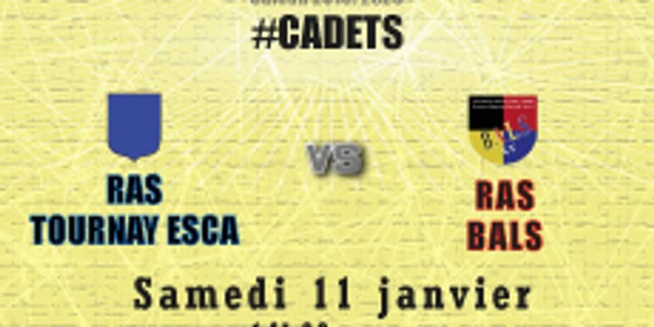 #Cadets : RAS Tournay Esca vs Bals