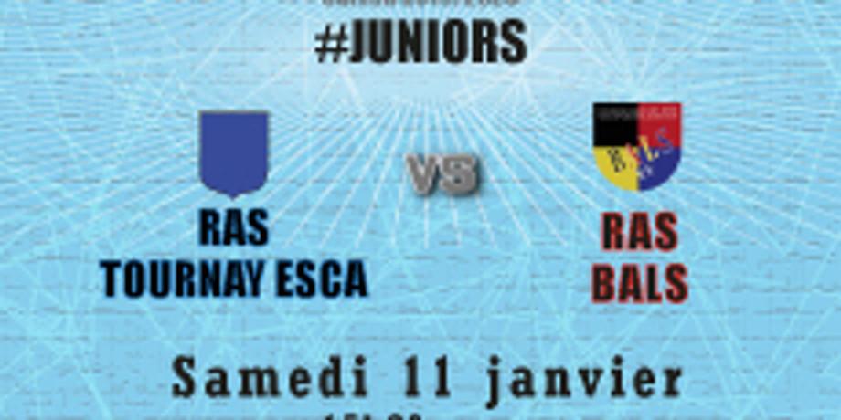 #Juniors : RAS Tournay Esca vs Bals