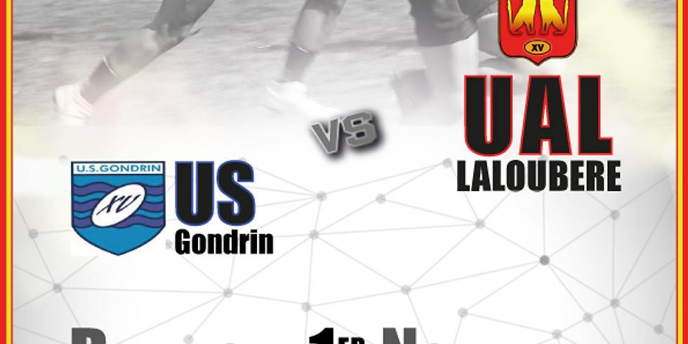 UA Laloubère vs US Gondrinoise