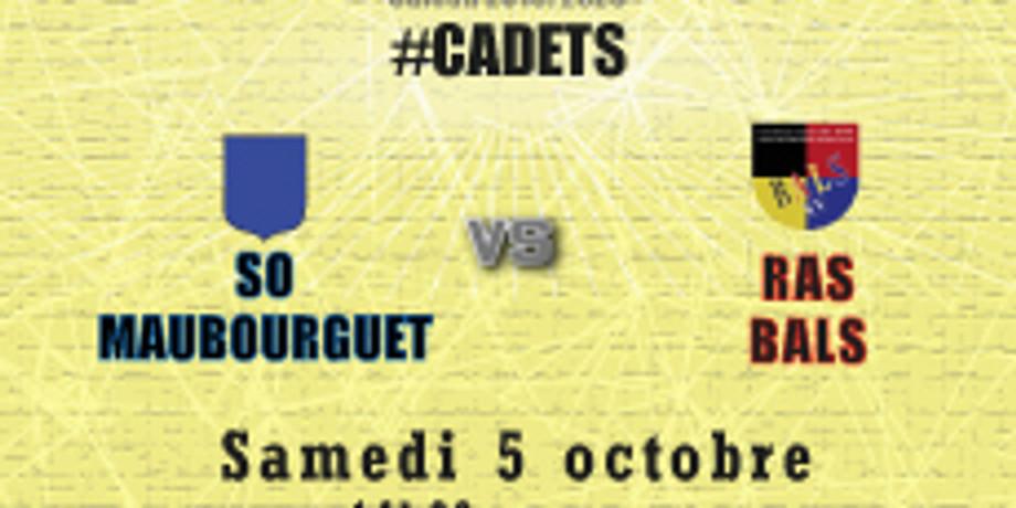 #Cadets : Maubourguet vs BALS