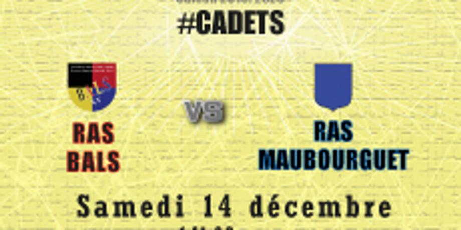 #Cadets : Bals vs SO Maubourguet