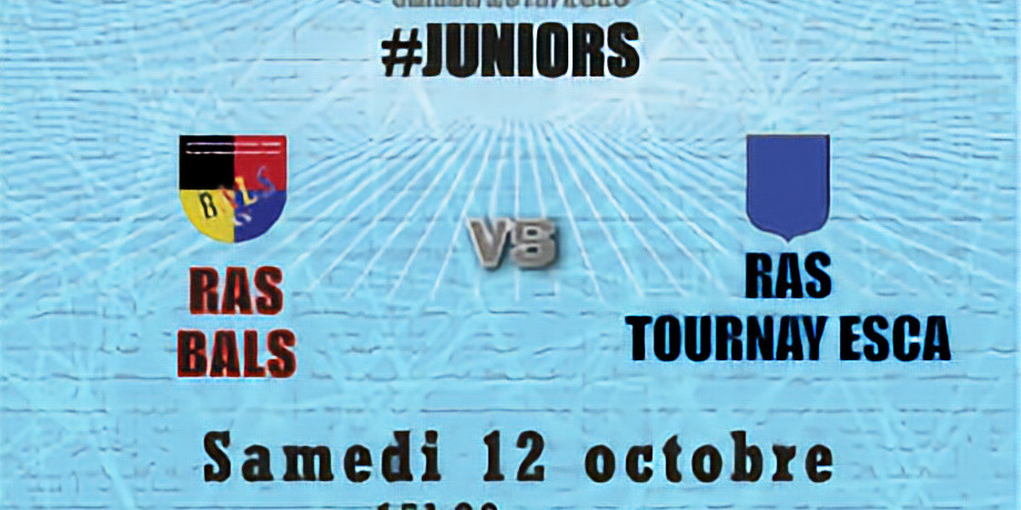 #Juniors : Bals vs Tournay Esca