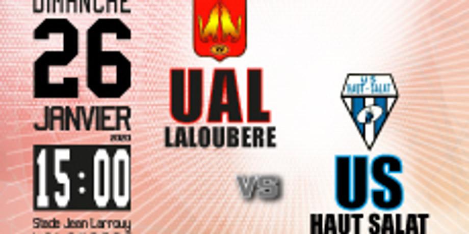 UA Laloubère vs US Haut Salat