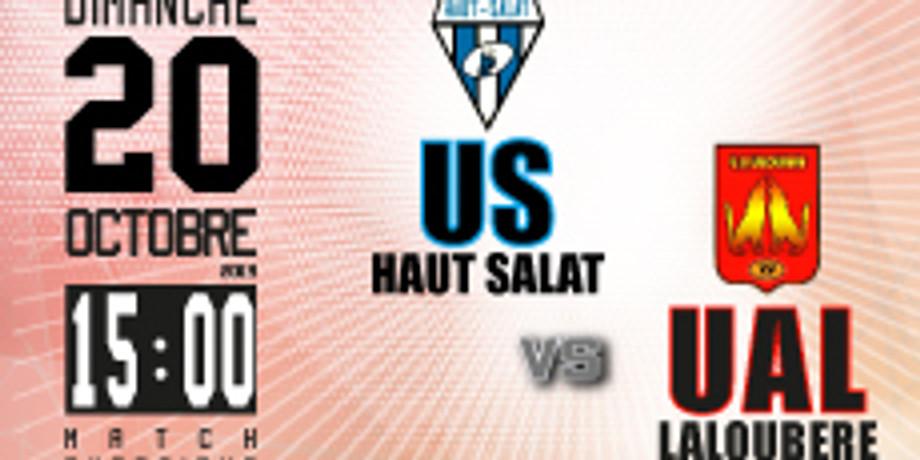 US Haut Salat vs UA Laloubère