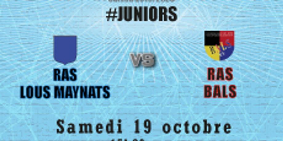 #Juniors : RAS Lous Maynats vs Bals