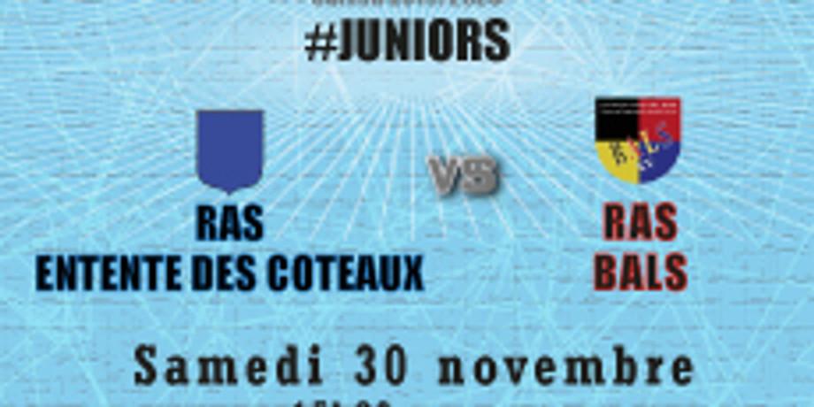 #Juniors : RAS Entente des Coteaux vs Bals