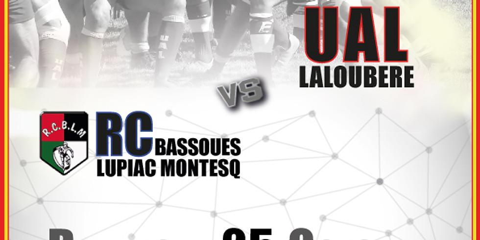 RC Bassoues Lupiac Montesq vs UA Laloubère