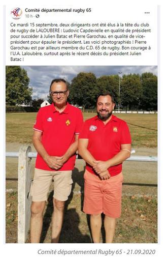 Comité Départemental Rugby 65