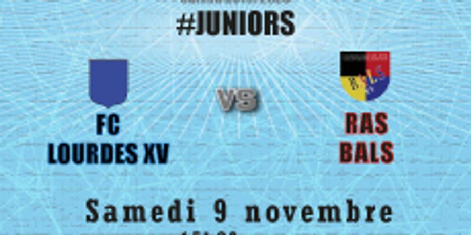 #Juniors : FC Lourdes XV vs Bals