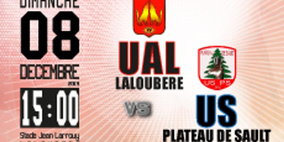 UA Laloubère vs US Plateau de Sault