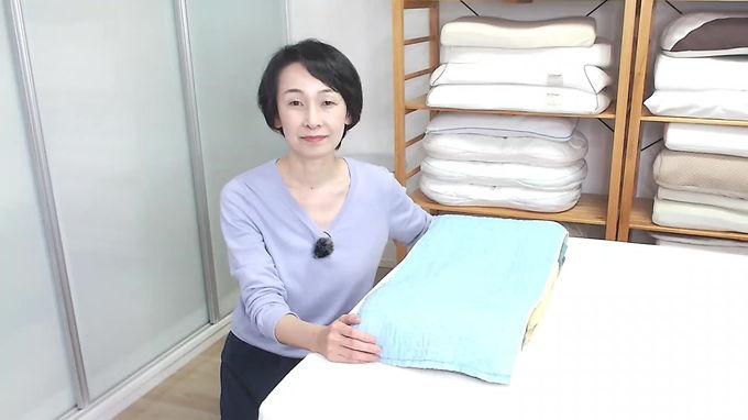 三橋式 バスタオル枕の作り方