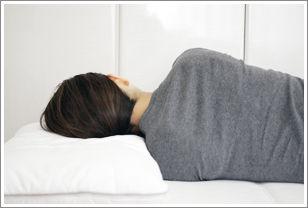 横向きで合っている枕