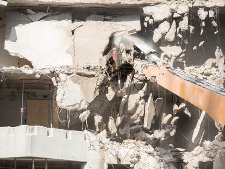 Homem é condenado por derrubar parte do imóvel de seu vizinho na Serra