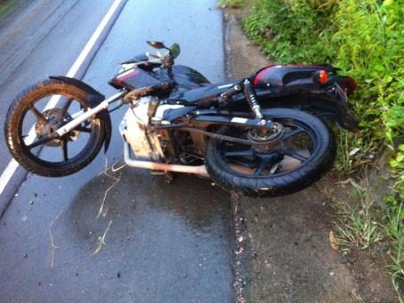 Motociclista atropelado é indenizado por empresa de ônibus