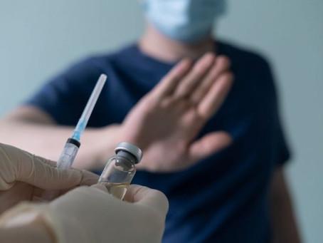 Recusa de vacina impede a convivência paterna