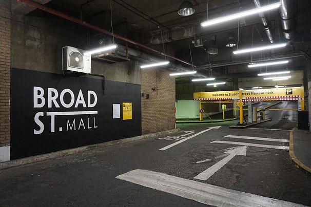 broad street mall reading mural