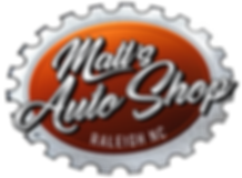 Matt's Auto Shop in Raleigh, Logo