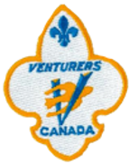 Venturers Section Badge scouts canada
