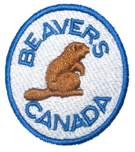Beaver Section Badge scouts canada
