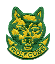 Cubs Section Badge scouts canada