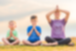 Yoginis Yoga promise Kind Heart Kind Words Kind Thouhts school and nursery yoga