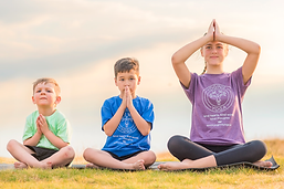 Yoginis Yoga promise Kind Heart Kind Words Kind Thouhts school and nursery yoga