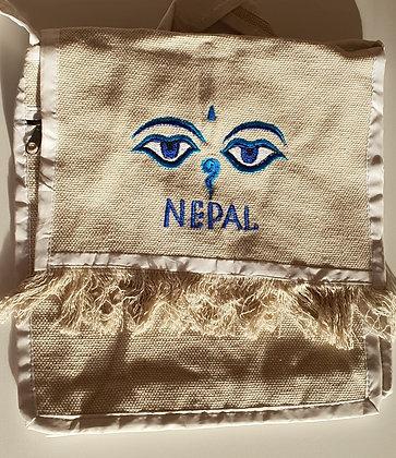 """Umhängetasche groß """"Nepal"""""""