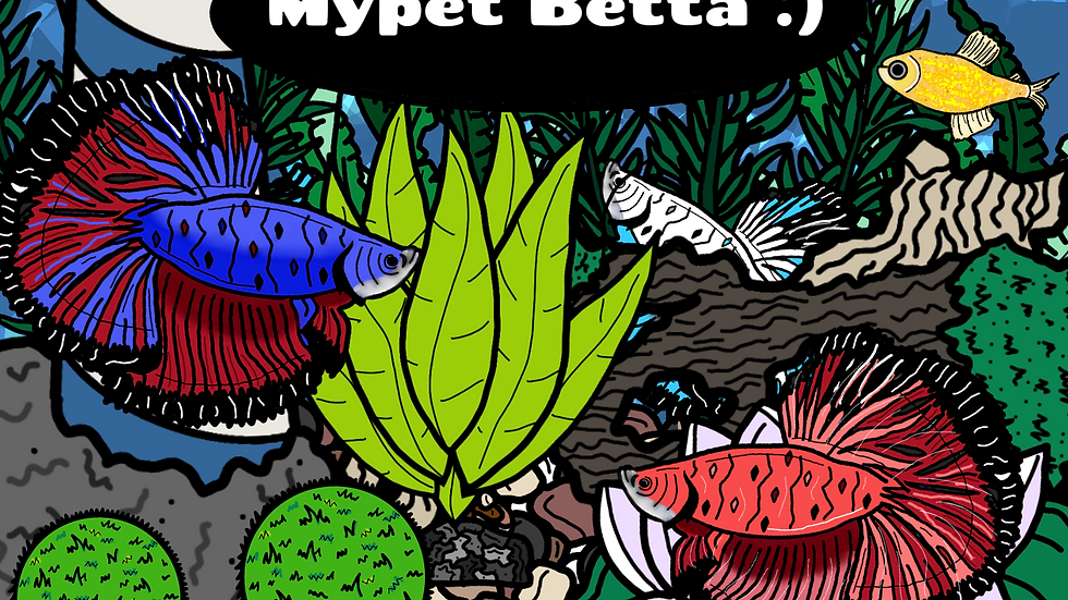 MyPet: Betta Picture and Fun Fact Book
