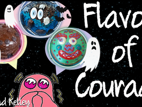 A Flavor of Courage: Halloween Sweets & Ghostly Treats!