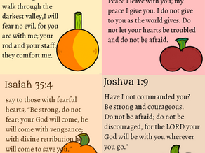4 Scriptures to Ward off Fear in Your Life