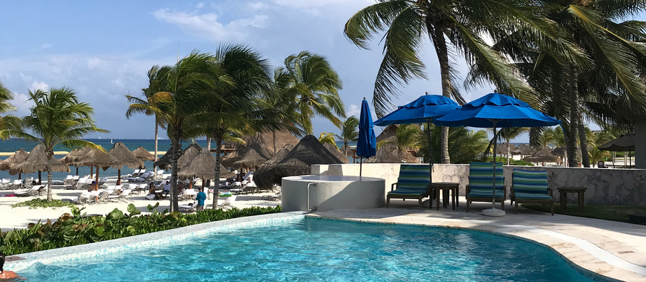 Infinitely Edge Ocean Front Paradise in Rivera Maya