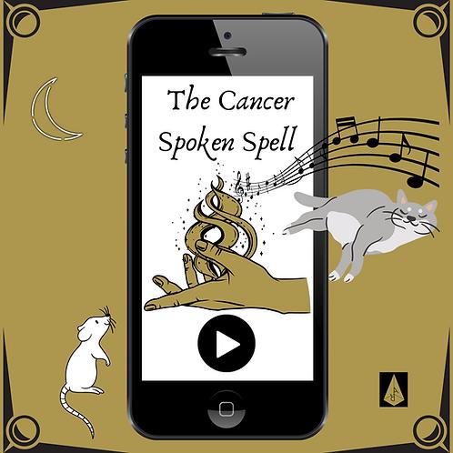 Cancer Spoken Spell