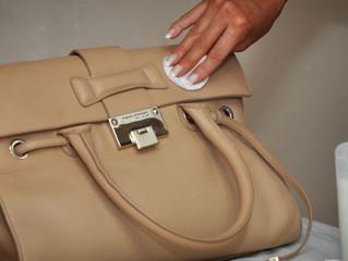 Using Mink Oil to Dye Handmade Italian Leather Bags