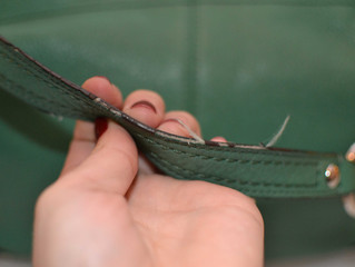 Why does my Italian leather handbag made in Italy look cheap?