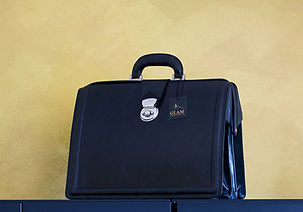 Churchill Leather Briefcase