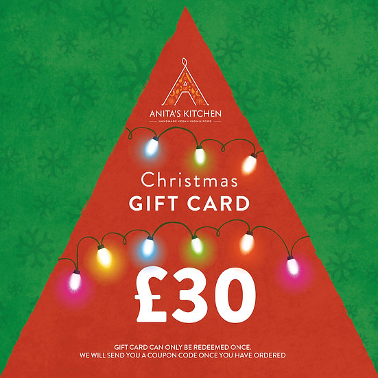 GIFT CARD - £30