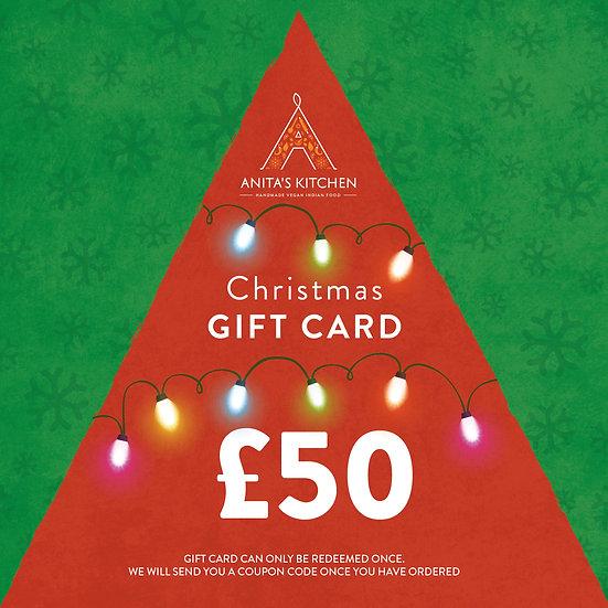 GIFT CARD - £50