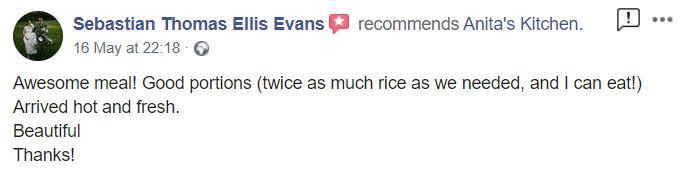 Sebastian Evans Recommendation