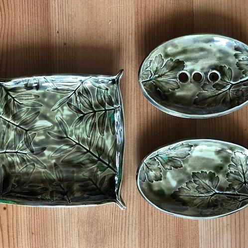 """Авторские тарелки из керамики Студия """"Творческий Класс"""""""