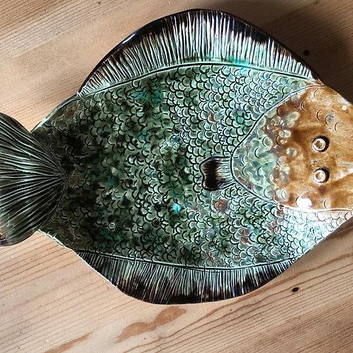 "Тарелка-рыба. Керамика Студии ""Творческий Класс"""