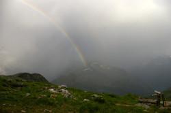 One of many rainbows