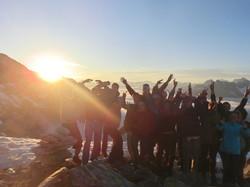 Sonnenaufgang am Petersköpfl