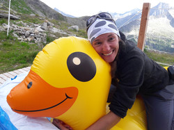 Susi and her duck :-D