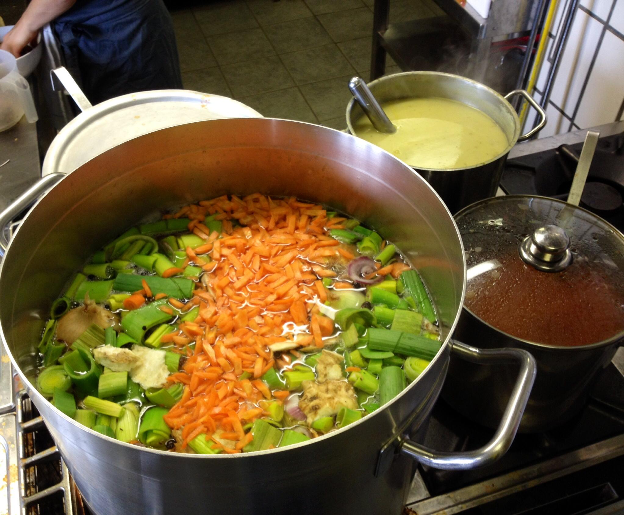 Hausgemachte Suppe