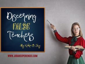 Discerning False Teachers