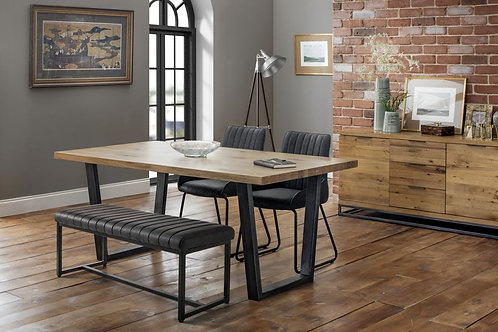 Brooklyn & Soho Dining Set - Bench & 2 Chairs